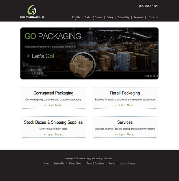 go-packaging-screen